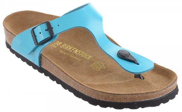 Birkenstock Gizeh in Blue Patent (Art: 845201)