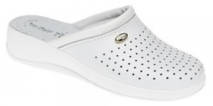 World of Clogs 'San Malo' Healthcare Clog in White