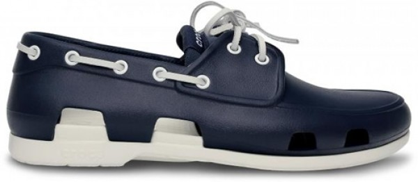 Crocs Beach Line Boat Shoe Men - Navy/White