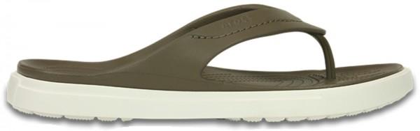 Crocs CitiLane Flip - Walnut/White