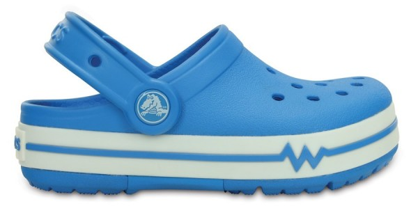 Crocs Crocslights Kids Clog - Ocean/White