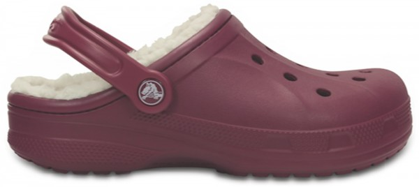 Crocs Winter Clog - Plum/Oatmeal