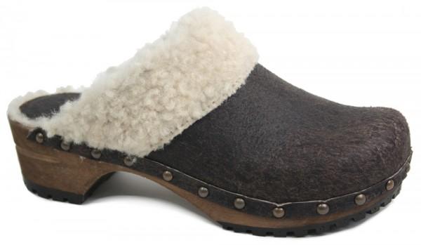 Sanita 'Classic Winter' Lambs Wool Clog (Art: 23451100)