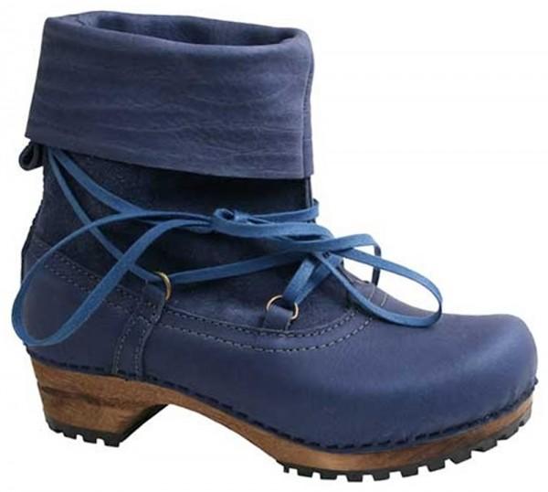 Sanita 'Ydun' Yak Leather Clog Boots
